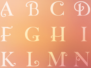 Marriage Typeface